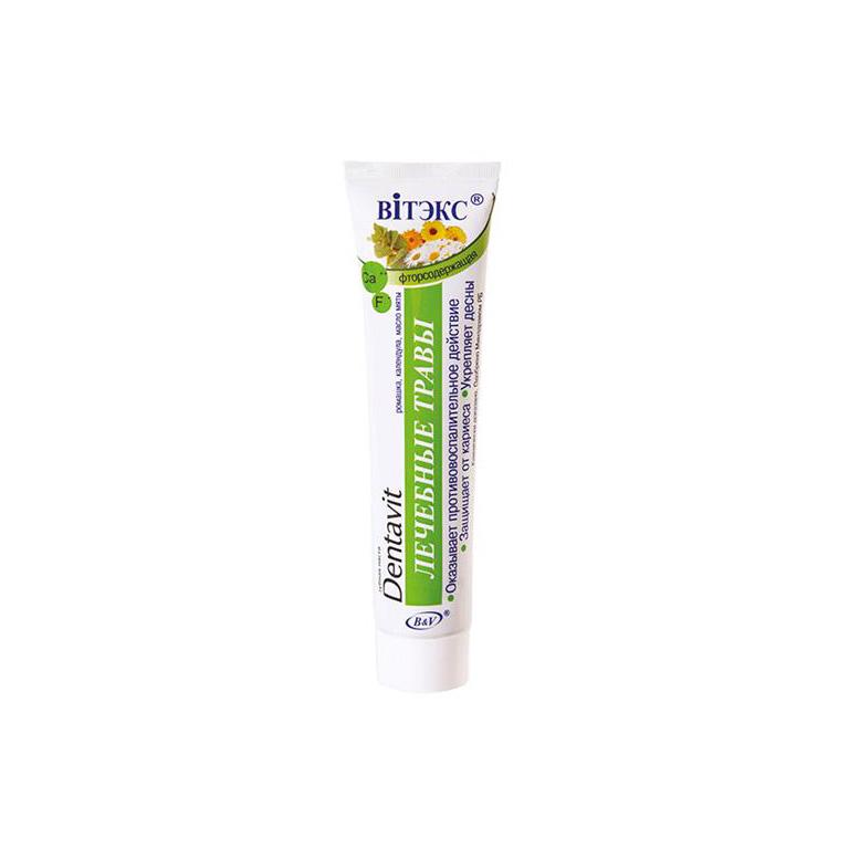 Dentavit Зубная паста Лечебные травы 160г