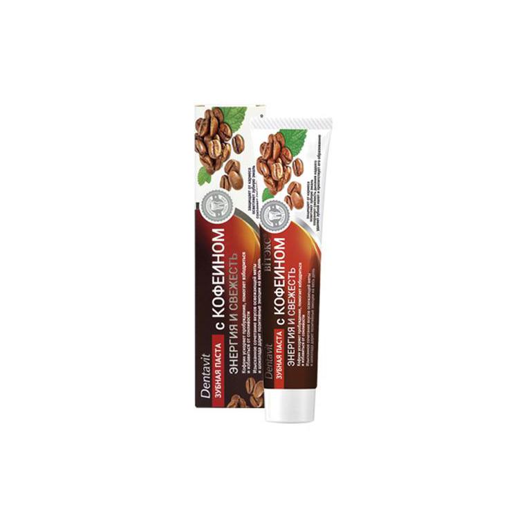 Dentavit Зубная паста с кофеином Энергия и Свежесть 85г
