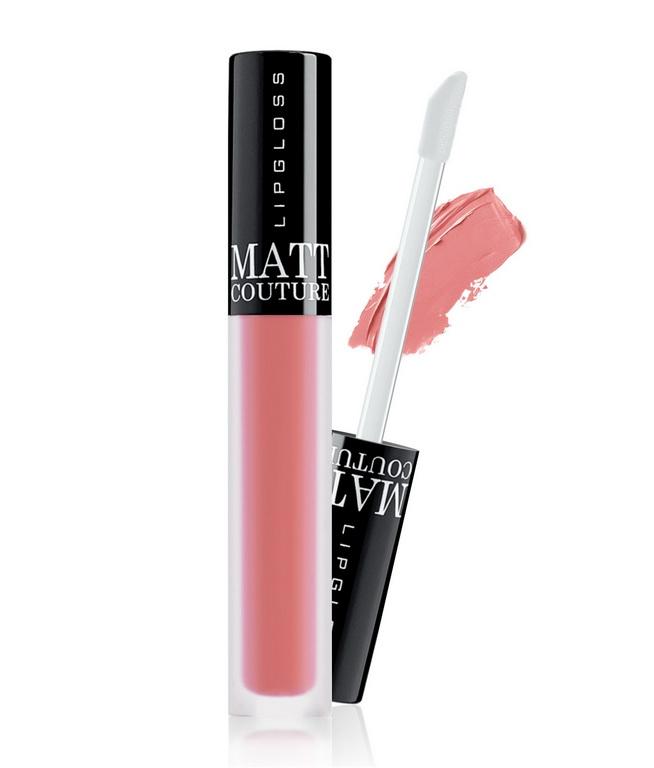 Блеск для губ Matt couture тон:58 розовый персик