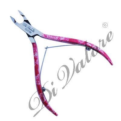 DiValore Кусачки для ногтей и кутикул, длина 10см, длина лезвий 7мм с рисунком (102-019#4)