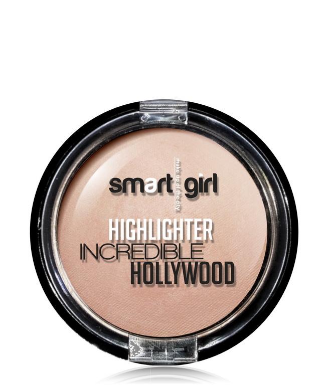 Хайлайтер Smart girl INCREDIBLE HOLLYWOOD  тон:2 жемчужно-розовый