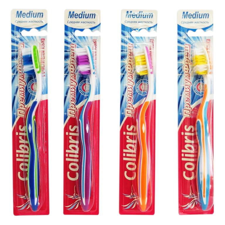 Зубная щетка арт.0902 средняя жесткость