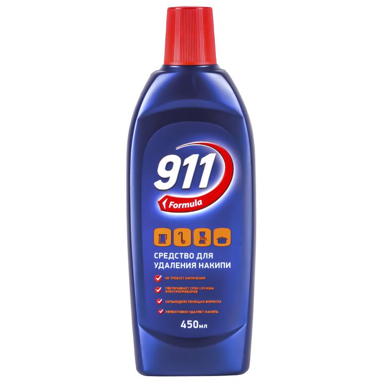911 ср-во д/накипи 450мл