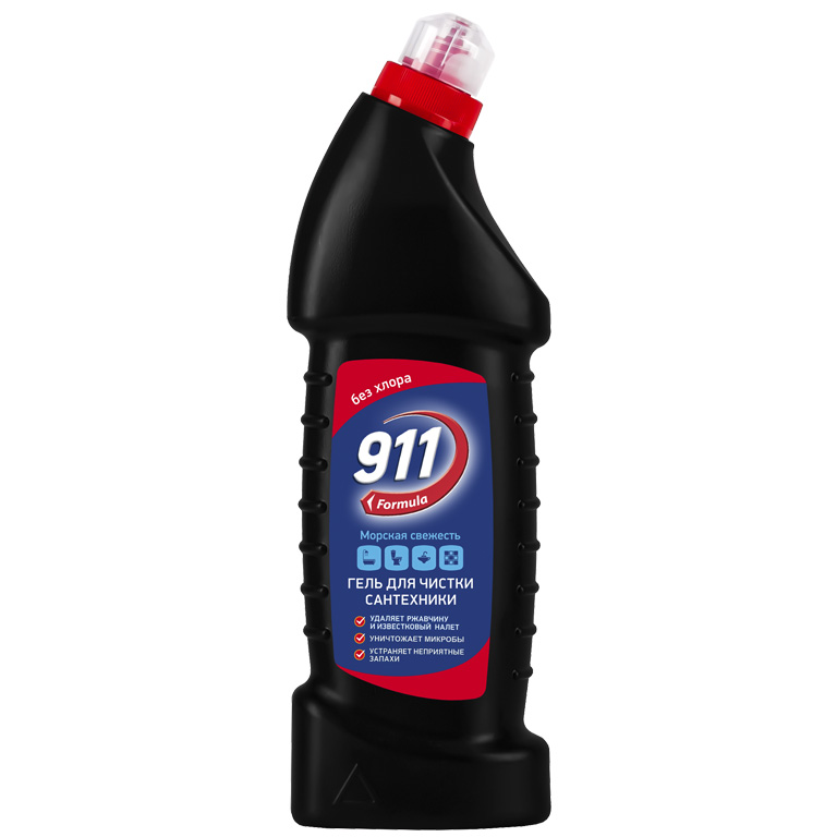 911 гель д/сантехники Морская свежесть 750мл