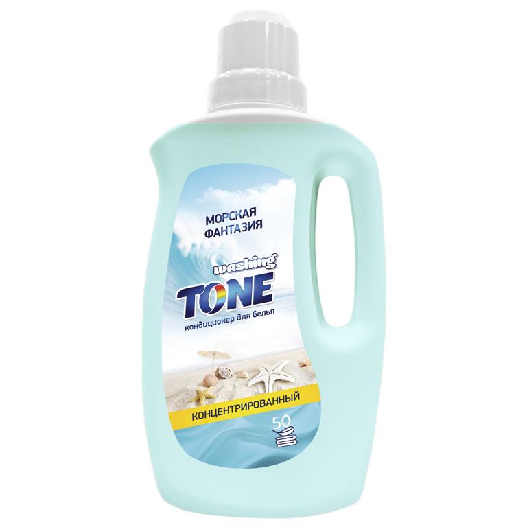 WASHING TONE Кондиционер для белья концентрированный «Washing Tone» «Морская фантазия», 1000 мл, шт