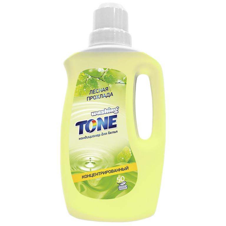 WASHING TONE Кондиционер для белья концентрированный «Washing Tone» «Лесная прохлада», 1000 мл, шт
