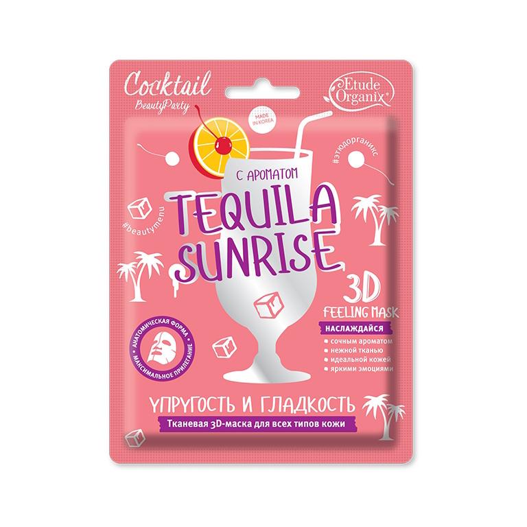 3D Маска упругость и гладкость Tequila Sunrise (тканевая) 23г