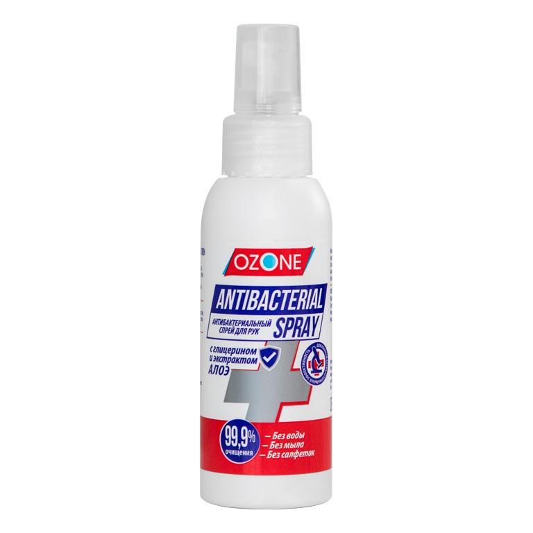 Антибактериальный спрей для рук OZONE 100мл